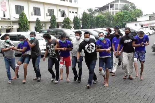 Polisi Semarang ringkus komplotan rampok lintas provinsi