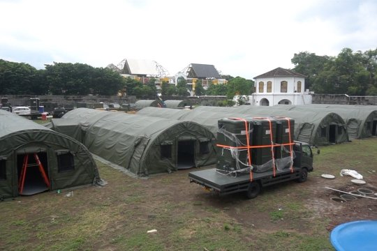 TNI AD bangun RS darurat COVID-19 di Benteng Vastenberg Solo
