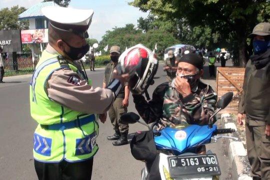 Perpanjang PSBB Proporsional,Pemkot Bandung perketat aktivitas ekonomi