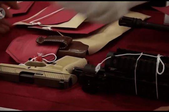 Polda Papua gencar razia senjata api ilegal