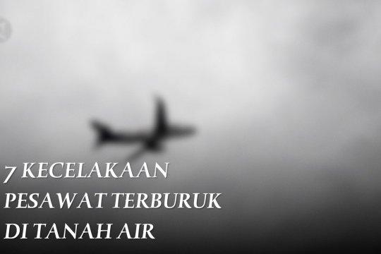 7 kecelakaan pesawat terburuk di Tanah Air