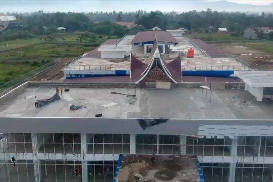 Hampir rampung, Terminal Anak Aia segera beroperasi di Padang