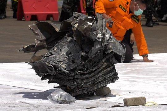 Sudah ada 19 kantong jenazah korban kecelakaan Sriwijaya Air