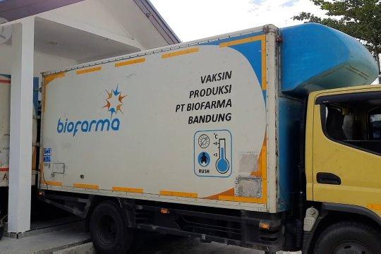 Vaksin Sinovac tiba di Palu dan Pekanbaru