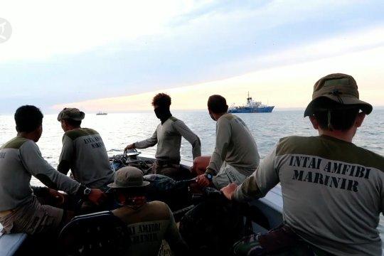 Operasi kemanusiaan Yontaifib saat evakuasi Sriwijaya Air SJ-182