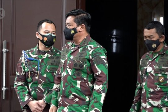 Panglima TNI terima kunjungan perdana Kapolri Jend. Pol Listyo Sigit