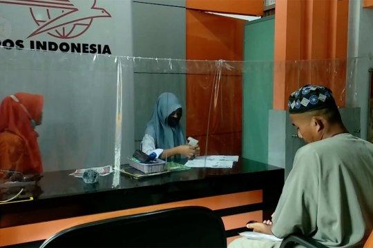 Pos Indonesia cabang Jambi salurkan BST Kemensos untuk 59.774 KPM