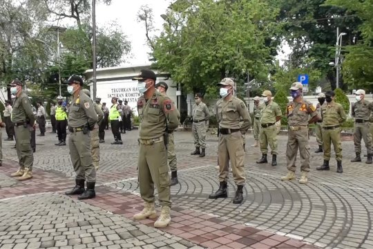 PPKM dimulai, Pemkot Semarang patroli berskala besar