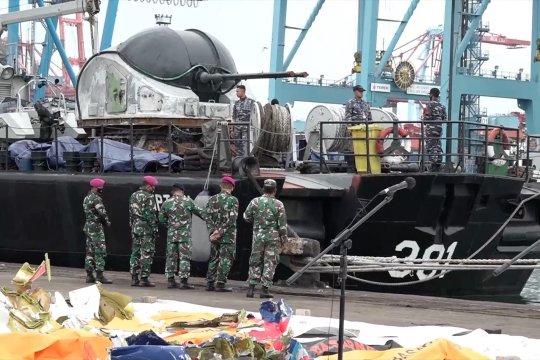 Tim gabungan tambah jumlah kapal pencarian pesawat Sriwijaya