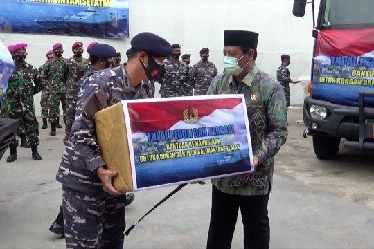 TNI AL kerahkan KRI Banda Aceh kirim bantuan korban bencana alam