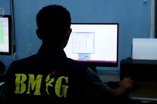 BMKG Ternate catat 1.414 gempa terjadi di Malut