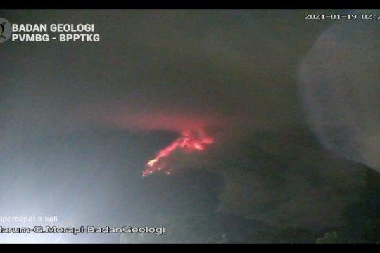 BPPTKG Yogyakarta sebut Gunung Merapi masuki fase erupsi efusif