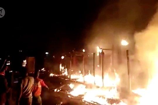 Kebakaran besar kembali landa kamp pengungsi Rohingya