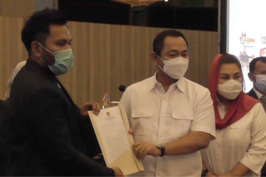 KPU tetapkan Hendrar Prihadi Wali Kota Semarang