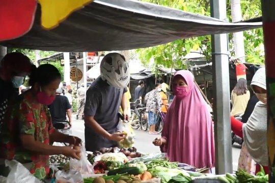 Tes cepat, 650 pedagang pasar tradisional di Madiun reaktif
