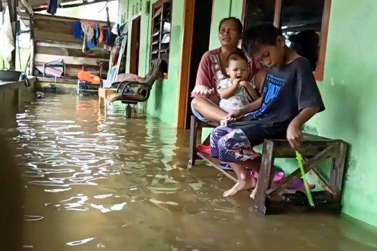 Banjir rendam ratusan permukiman di Bangka Belitung