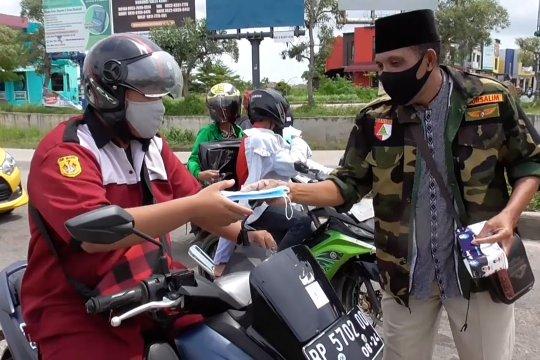 GP Ansor distribusikan 150 ribu masker di Kepri