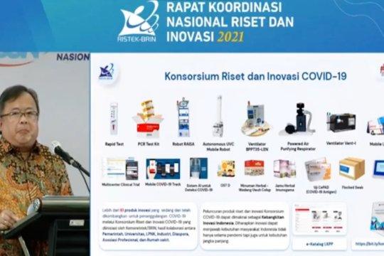 Kemenristek BRIN kembangkan 61 produk inovasi di 2020