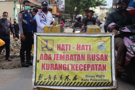 Palembang fokus pembangunan infrastruktur jalan dan jembatan