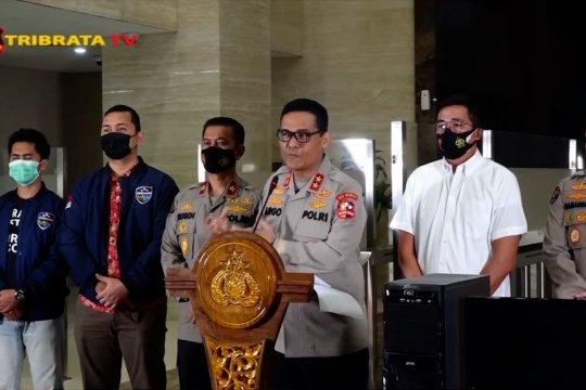 Polri ungkap 2 pelaku parodi lagu Indonesia Raya