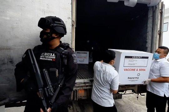 Vaksin tahap dua datang untuk 9 kabupaten kota di Riau