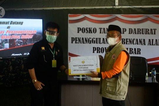 Menteri Pertanian pantau ketahanan pangan di Sulawesi Barat