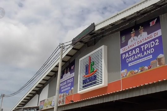 Pasar TPID II Batam resmi beroperasi hadapi pandemi