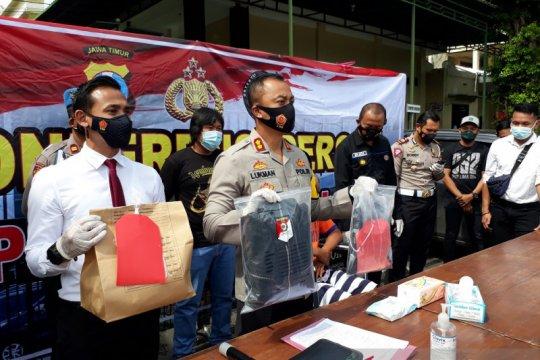 Polres Kediri ungkap pembunuhan sopir taksi daring