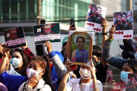 Dewan Keamanan PBB diminta jatuhkan sanksi pada militer Myanmar