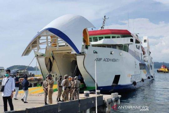 Pemerintah Aceh uji coba Kapal Aceh Hebat 1 ke Pulau Simeulue
