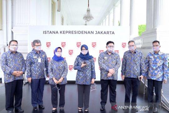 Pimpinan Ombudsman RI sampaikan laporan tahunan ke Presiden Jokowi