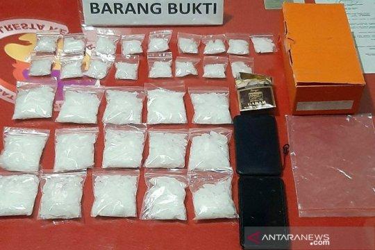 Polres Kendari tangkap pengedar 1 kilogram sabu-sabu