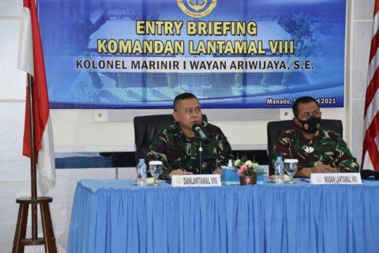 Komandan Pangkalan Utama TNI AL VIII/Manado ingatkan kinerja jajaran