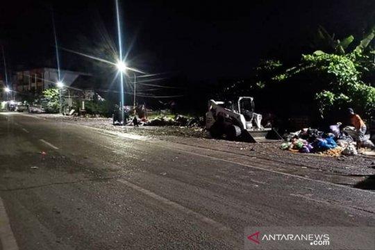 Sudah sepekan DLH Banjarmasin berjibaku atasi sampah pascabanjir
