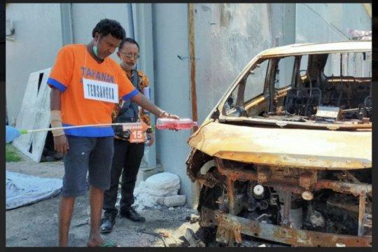 Terdakwa pembakaran mobil Via Vallen divonis enam tahun