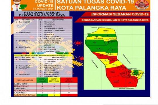 15 Kelurahan di Palangka Raya zona merah COVID-19