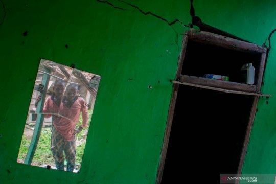 41 rumah di Lebak rusak berat akibat pergerakan tanah