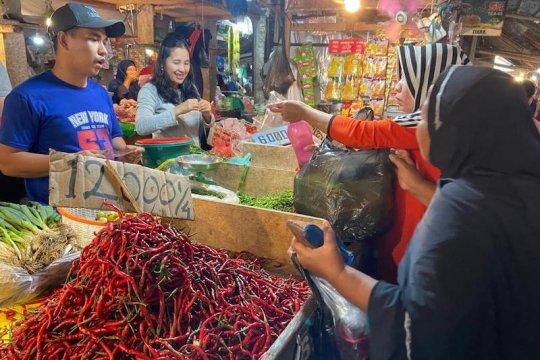 Kota Palembang mengalami inflasi 0,43 persen
