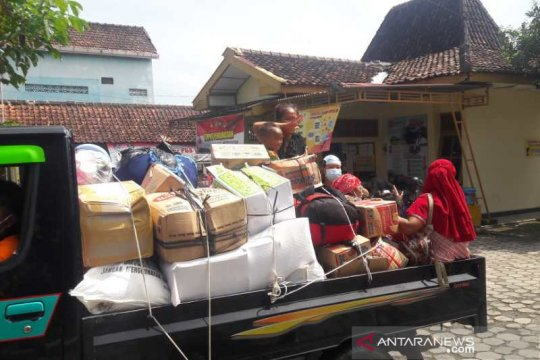 265 warga Merapi tinggalkan pengungsian Banyurojo