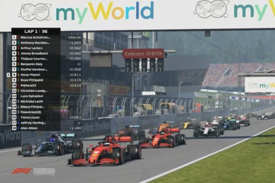Enzo Fittipaldi menangi grand prix virtual perdana di Austria