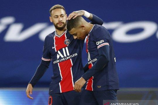 Kylian Mbappe senang menjadi pendukung Neymar di Paris Saint-Germain