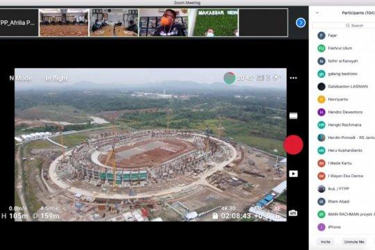 Pembangunan Stadion Banten lebih cepat dari target