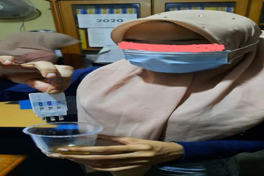 IRT mendekam di sel tahanan Polresta Banda Aceh gegara pil ekstasi