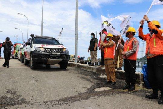 Gubernur Sulbar sambut kapal bermuatan 1.000 ton beras bantuan ACT