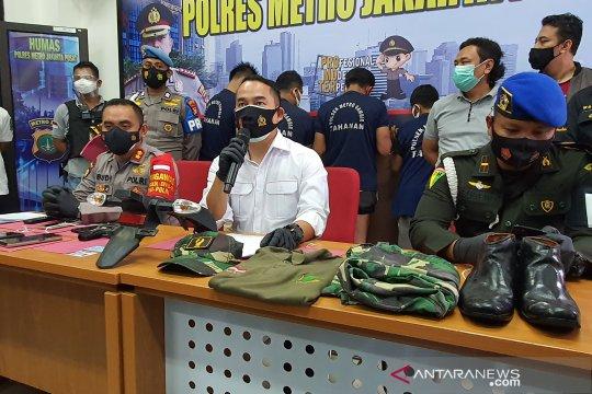 Paspampres gadungan ditangkap Polres Jakarta Pusat