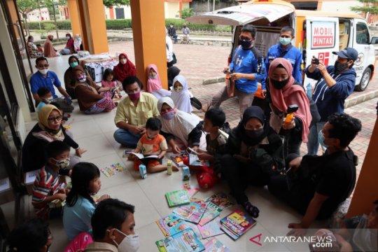 Peduli korban bencana,Askrindo hadirkan psikolog anak dan mobil pintar