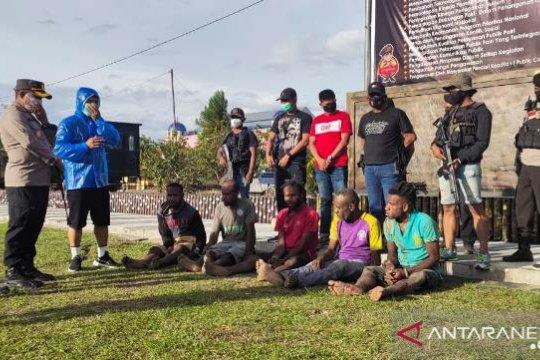 Polisi Jayawijaya tetapkan dua tersangka penyerang pendeta