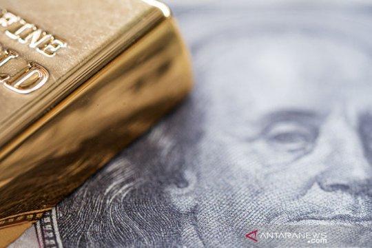 Emas merangkak naik lagi 2,4 dolar didorong pelemahan dolar AS