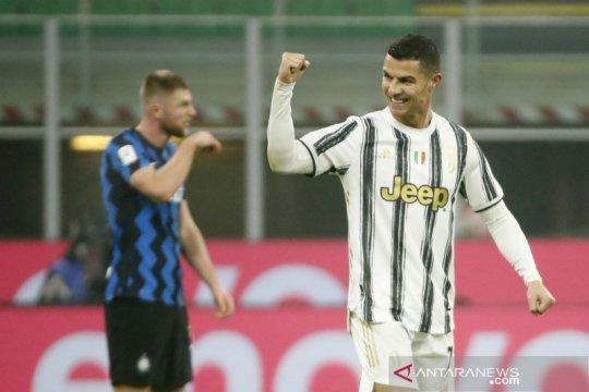 Semifinal Coppa Italia : Juventus menang 2-1 di kandang Inter
