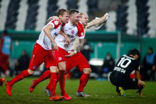 Hasil Piala Jerman, Leverkusen disingkirkan klub divisi empat